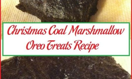Christmas Coal Marshmallow Oreo Treats Recipe