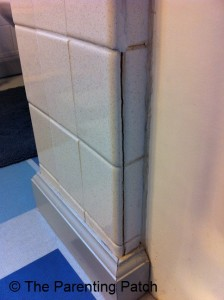 Crack in Grout 3