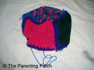 Crocheted Cube