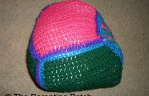 How to Make a Crocheted Baby Toy from Leftover Blanket Squares