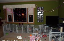 Decorating My Living Room for Valentine's Day: Wordless Wednesday