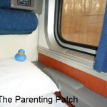 The Duck on the Amtrak Train