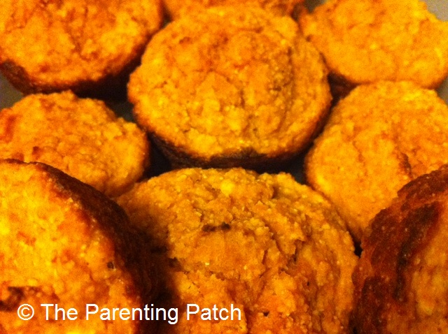 Easy Pumpkin Corn Muffins