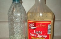 Toddler Activity Fail: Making a Corn Syrup and Water Sensory Bottle