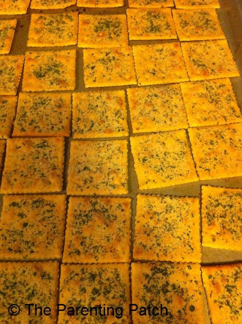 Homemade Ranch Saltines