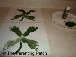 Painting on the Clover Stem