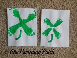 Footprint Four-leaf Clovers