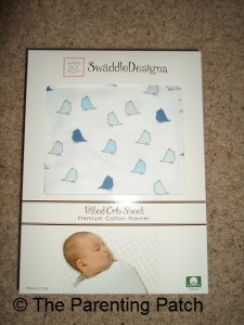 SwaddleDesigns Flannel Fitted Crib Sheet