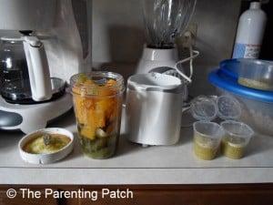 Blending Pumpkin and Zucchini