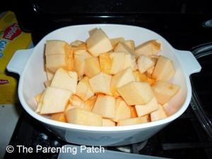 Raw Pumpkin Chunks
