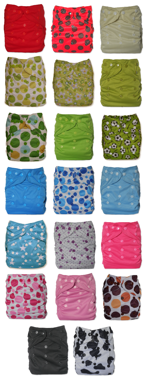 Wolbybug Diaper Covers
