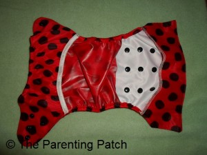 Inside of Wolbybug Diaper Cover