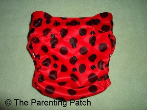 Smallest Setting of Wolbybug Diaper Cover