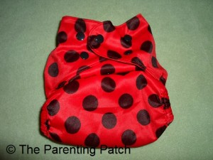 Largest Setting of Wolbybug Diaper Cover