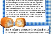 10 Food Facts: An Infographic from Today I Found Out