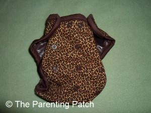 Cheetah Kissaluvs Kutie Cloth Diaper 1