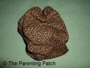 Cheetah Kissaluvs Kutie Cloth Diaper 2