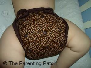 Cheetah Kissaluvs Kutie Cloth Diaper 3