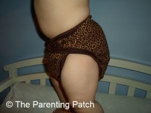 Cheetah Kissaluvs Kutie Cloth Diaper 7