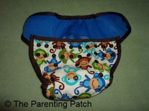 Monkey Fun Planet Wise Cloth Diaper 1