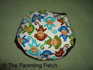 Monkey Fun Planet Wise Cloth Diaper 2