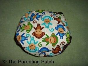 Monkey Fun Planet Wise Cloth Diaper 2