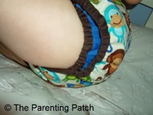 Monkey Fun Planet Wise Cloth Diaper 4