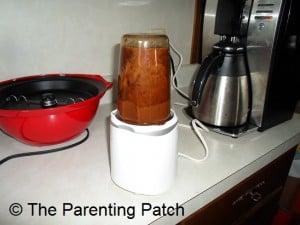Pureed Prune Baby Food
