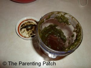 Pureed Cooked Beet Greens