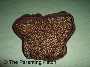 Cheetah Kissaluvs Kutie Cloth Diaper Cover