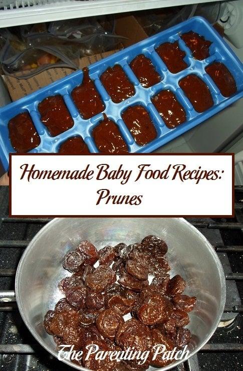 Homemade Baby Food Recipes: Prunes