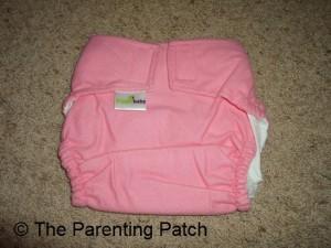 Bubble Gum ZiggleBaby One-Size Cloth Diaper