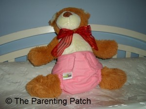 Small Setting of ZiggleBaby One-Size Cloth Diaper 1