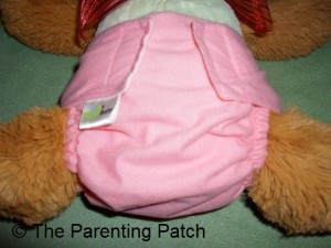 Small Setting of ZiggleBaby One-Size Cloth Diaper 2