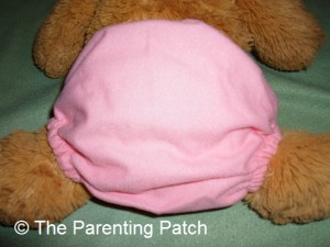 Small Setting of ZiggleBaby One-Size Cloth Diaper 3