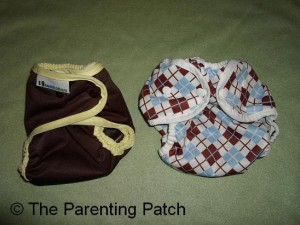 Smallest Best Bottom Shell and Smallest Size 2 Thirsties Duo Wrap