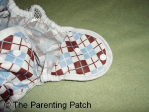 Hip Snaps of Thirsties Duo Wrap Diaper Cover