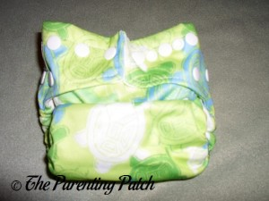 Smallest Setting of the Bumkins Snap-in-One Diaper
