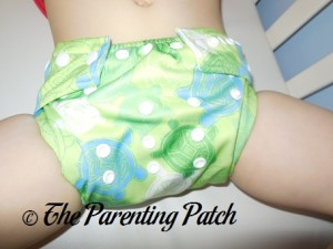 Bumkins Snap-in-One Diaper on 30 Pound Preschooler 1