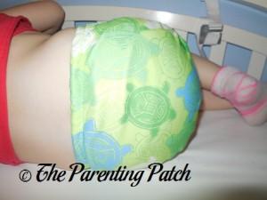 Bumkins Snap-in-One Diaper on 30 Pound Preschooler 3