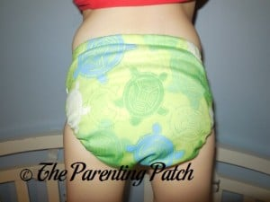 Bumkins Snap-in-One Diaper on 30 Pound Preschooler 4