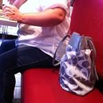 Obese Lady at Smashburger