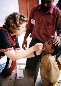 Oral Polio Vaccine in India