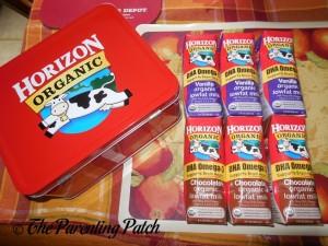 DHA Omega-3 Horizon Organic Flavored Milk