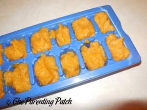 Sweet Potato Baby Food Cubes