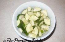 Easy Cucumber Salad: Wordless Wednesday