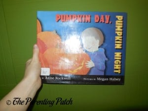 Pumpkin Day, Pumpkin Night by Anne Rockwell and Megan Halsey