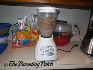Mashing the Pinto Beans