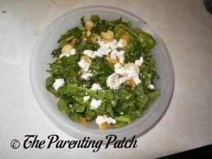 Hello Fresh Tangy Citrus Salad with Asparagus and Goat Cheese 1