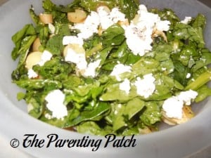 Hello Fresh Tangy Citrus Salad with Asparagus and Goat Cheese 2